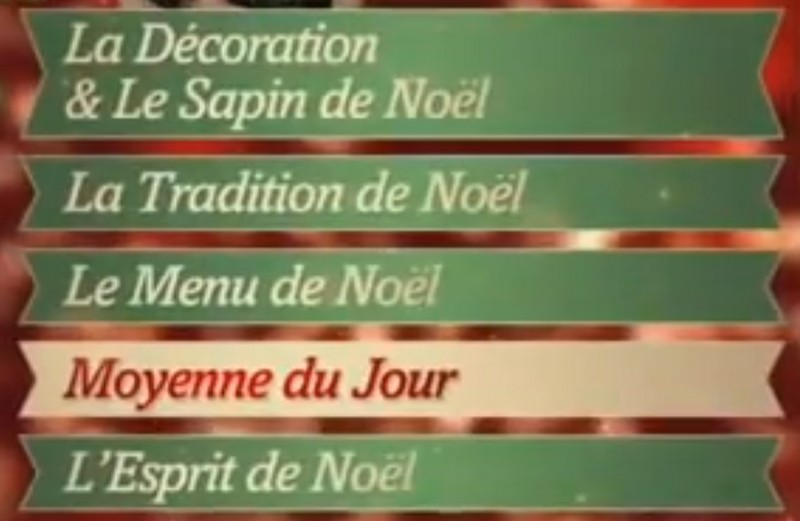 Evaluation des candidats Mon Plus Beau Noel - Ma Folie Des Fetes