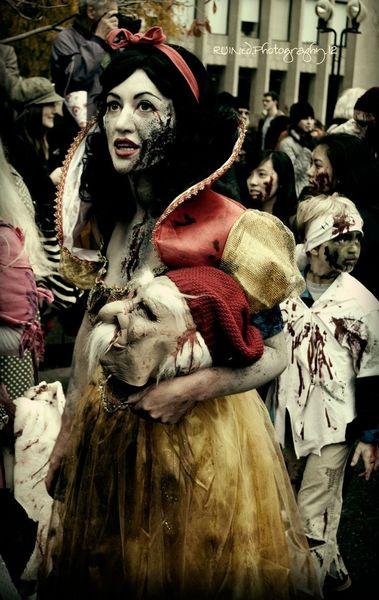 Costume Blanche neige effrayant horreur - Ma Folie Des Fetes