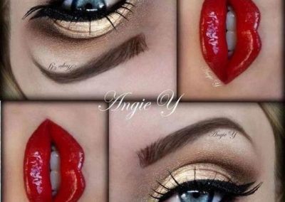 Idée maquillage Wonder Woman Yeux (10)
