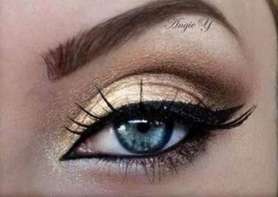 Idée maquillage Wonder Woman Yeux (9)