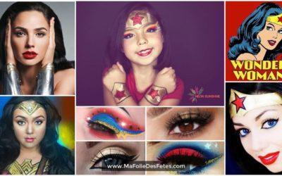 ★ Maquillage Wonder Woman : Idées et tutos DIY makeup ★