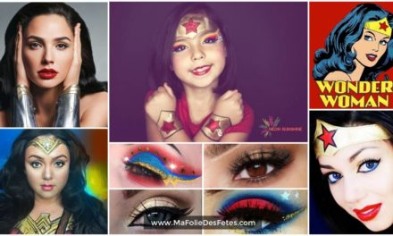 ★ Maquillage Wonder Woman : Idées et tutos DIY makeup ★