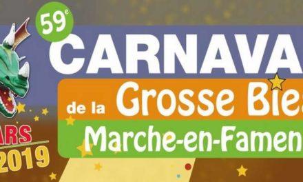 ★ Carnaval de la Grosse Biesse à Marche-en-Famenne : Programme des festivités 2019 ★