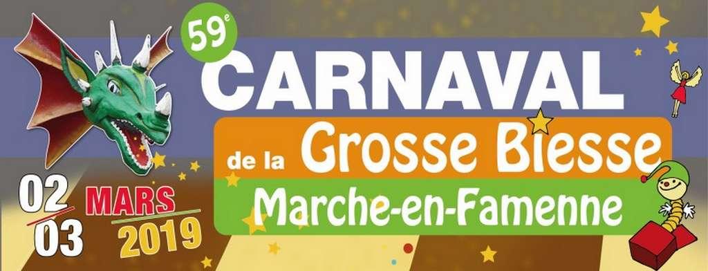 Carnaval de la Grosse Biesse Marche-en-Famenne 2019 - Ma Folie Des Fetes