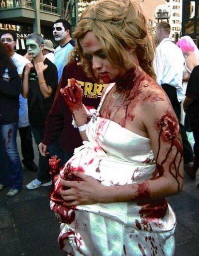 Deguisement femme enceinte zombie 2 - Ma Folie Des Fetes