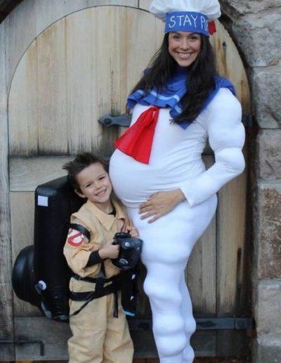 Idee Deguisement Femme enceinte Fantome 4 - Ma Folie Des Fetes
