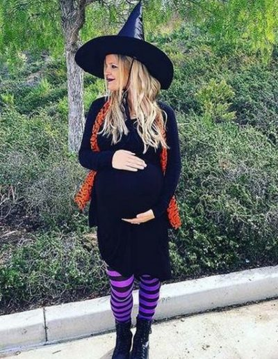 Idee Deguisement Halloween pour Femme enceinte Sorciere - Ma Folie Des Fetes