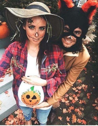 Idee Deguisement Halloween pour femme enceinte-épouvantail 2- Ma Folie Des Fetes