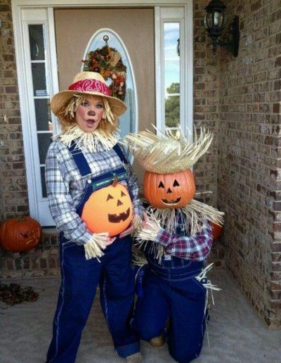 Idee Deguisement Halloween pour femme enceinte-épouvantail - Ma Folie Des Fetes