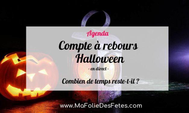★ Compte à rebours Halloween 2021 : Combien de temps reste-t-il ? ★