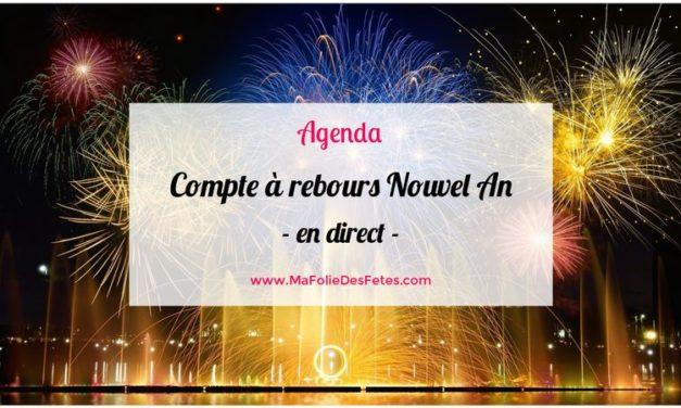 ★ Compte à rebours Nouvel An 2022 en direct ★