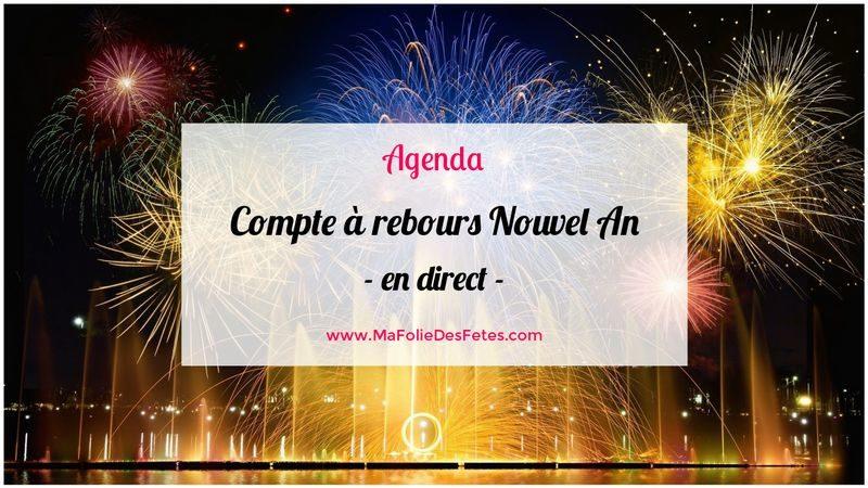 Compte à rebours Nouvel an - Ma Folie Des Fetes
