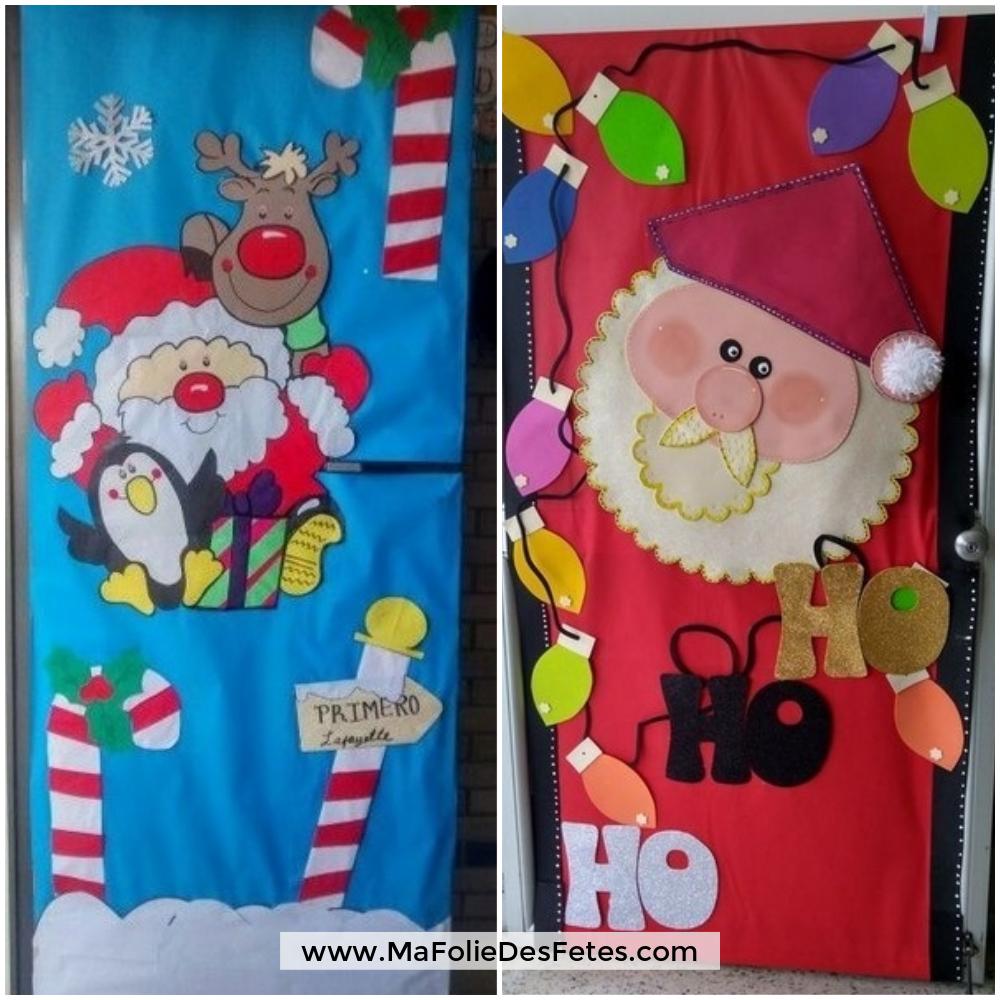 Décoration Portes de classe Père Noël (4) - Ma Folie Des Fetes