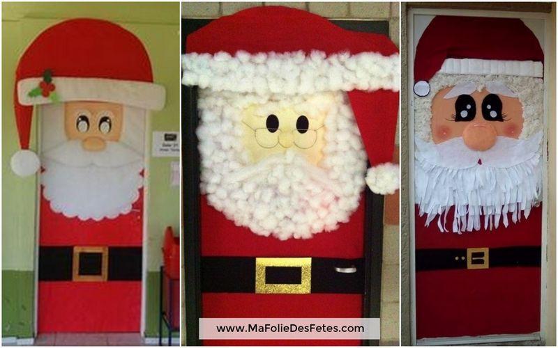 Décoration Portes de classe Père Noël - Ma Folie Des Fetes (3)