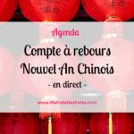 ★ Compte à rebours Nouvel An Chinois 2022 ★